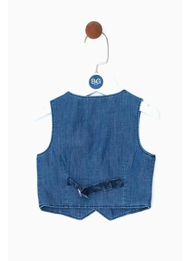 B&G Store Erkek Bebek Desenli Yelek 19SS0BG1701 Renkli